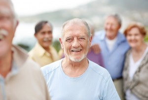 šťastní důchodci. péče o seniory, Újezd u Brna