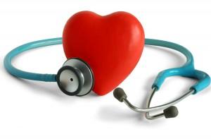 srdce se stetoskopem. péče o seniory, Újezd u Brna